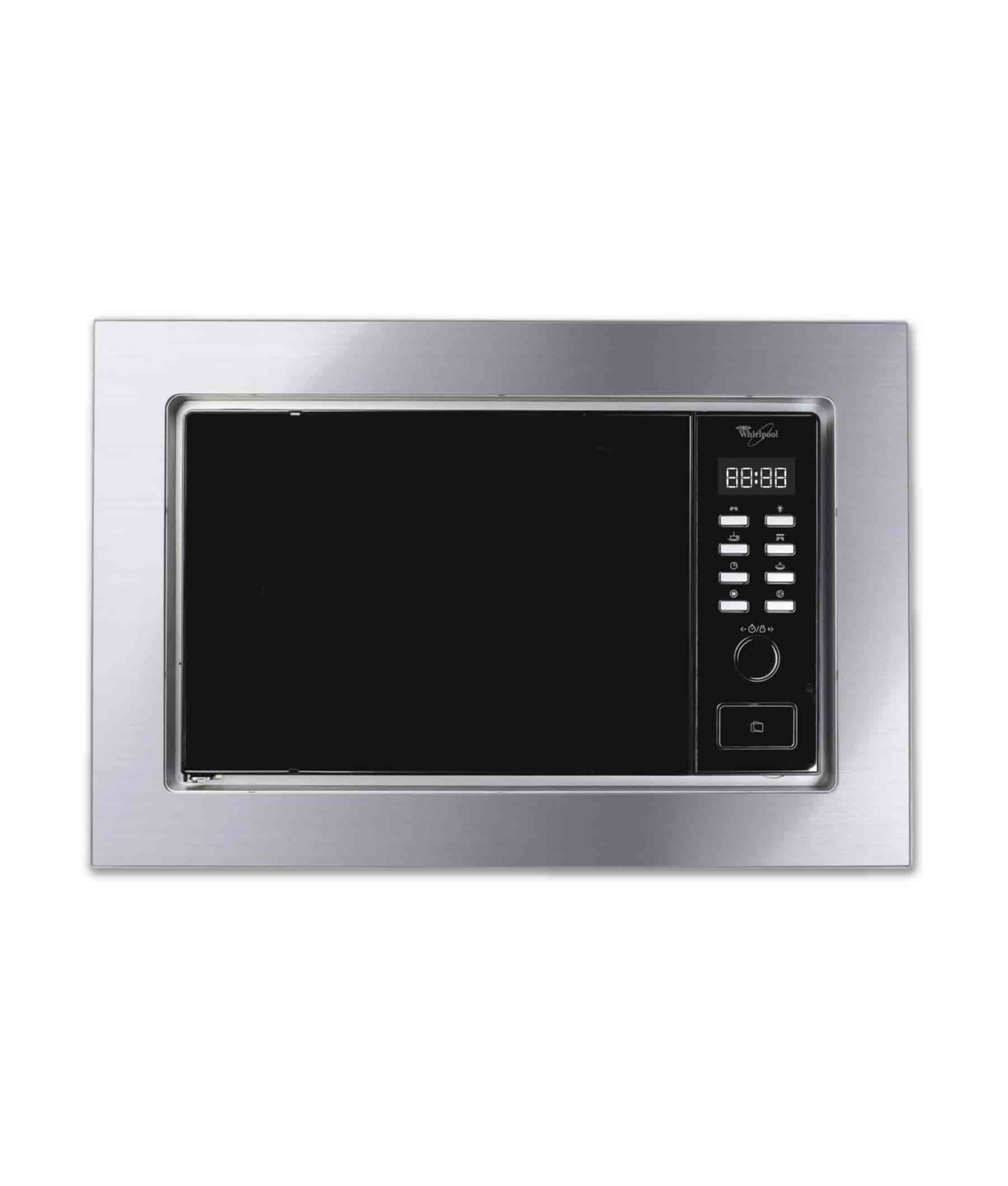 Whirlpool 20 Litres Built In Microwave Oven Stainless Steel Cb 2068 Ix