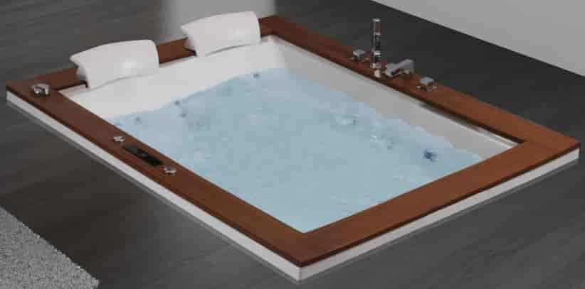 Buy Woven Gold Ocean Rectangular Premium Bath Tub, Features, Price ...