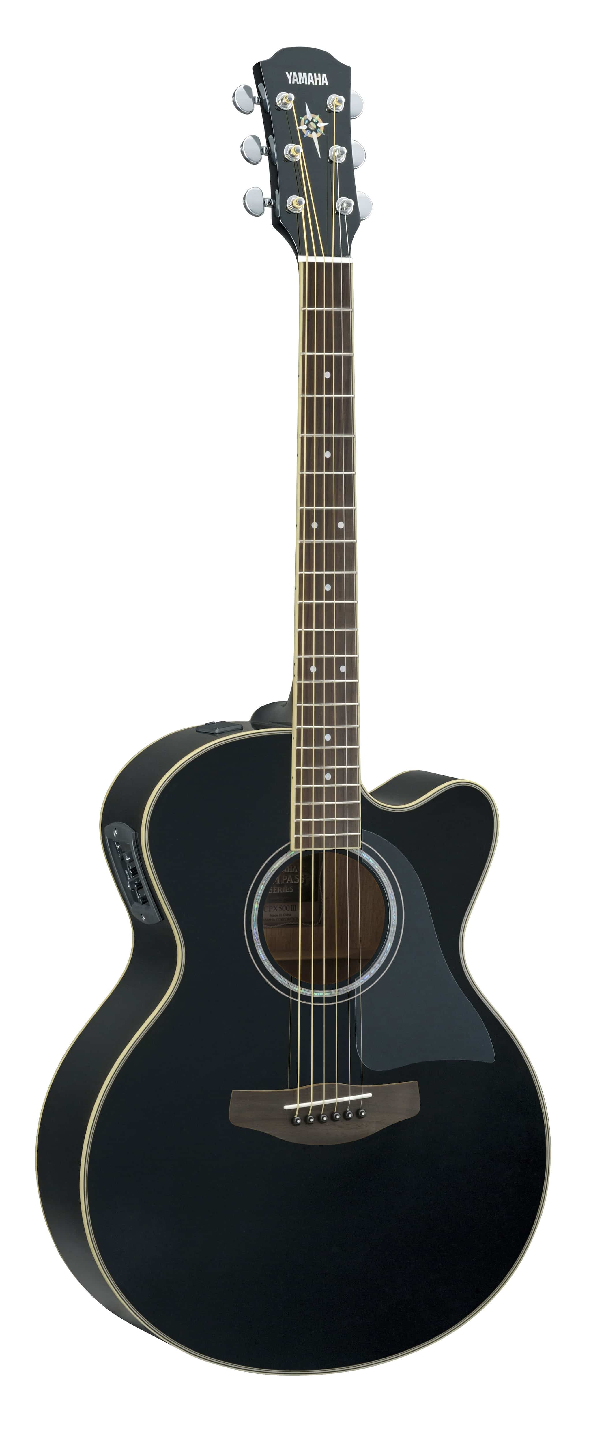 Buy Yamaha Electro Acoustic Guitar Black Cpx500iii Features