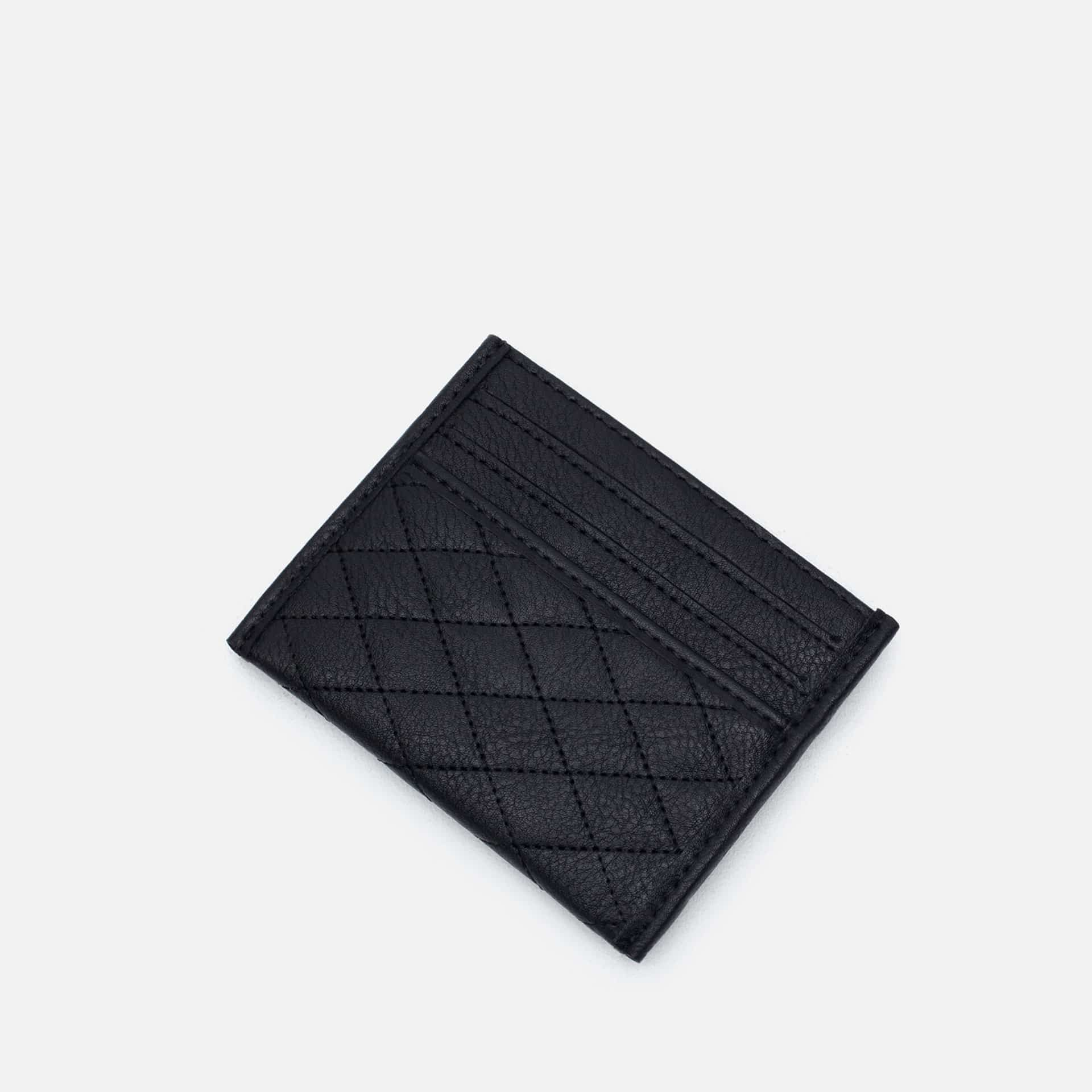 Buy Zara Men Quilted Business Card Holder Black [6610 005
