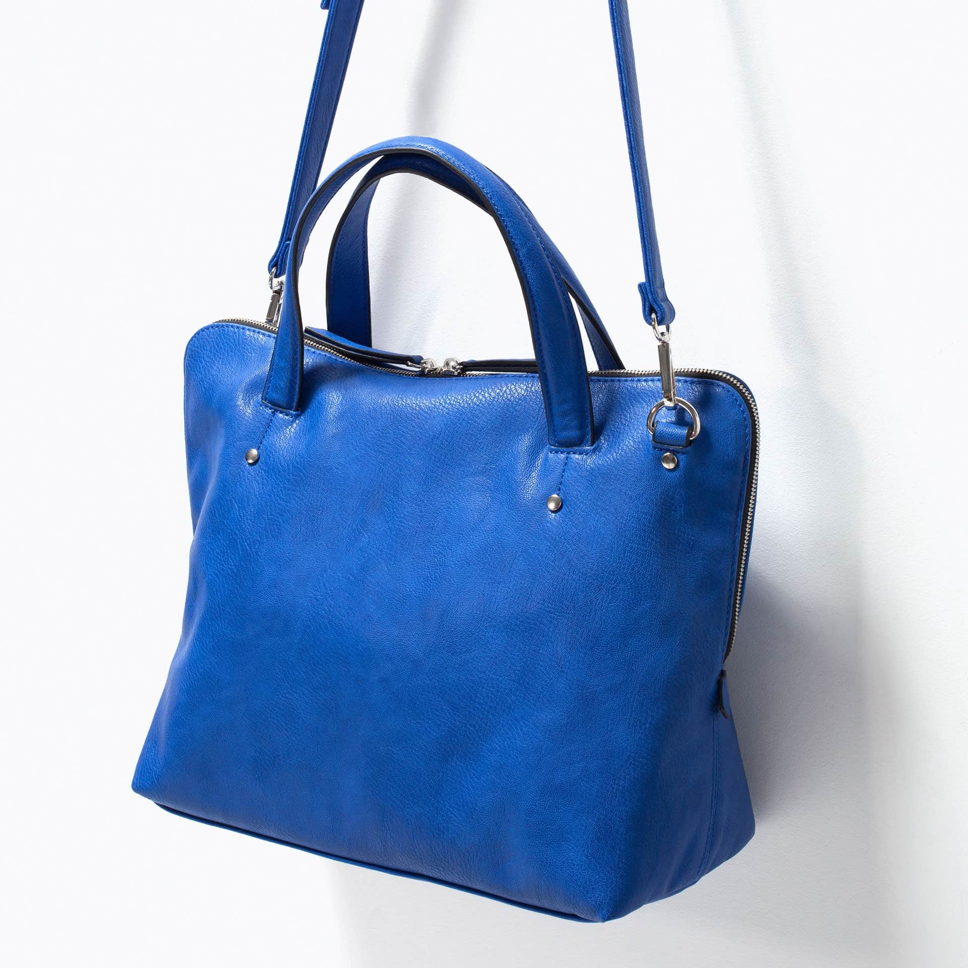 Buy ZARA Soft City Bag Blue [4579/004], Features, Price, Reviews ...
