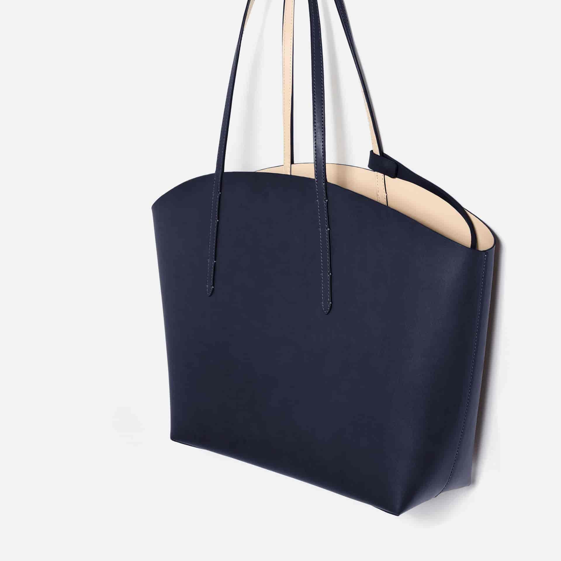 Zara Tote Bag Leather 4311 104