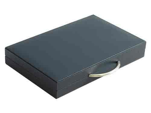 Case Blue Board Game : Buy zaza & sacci leather backgammon board game set 15 luxury travel