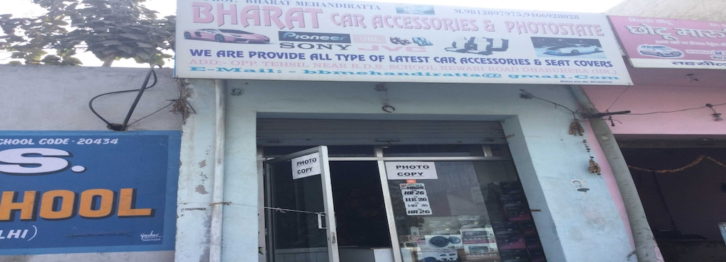 Bharat car accessories - Car Accessory Distributors-Hiker in Rewari ...