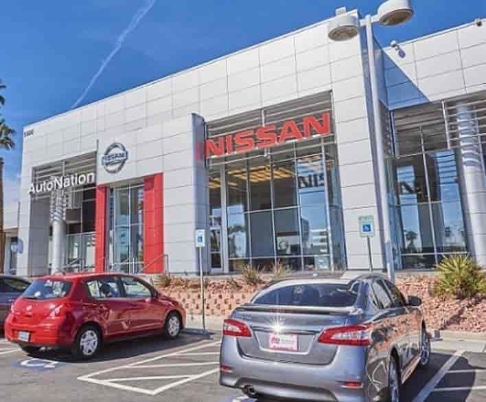 Autonation Nissan Las Vegas Near W Sahara Ave Duneville St Nv Las