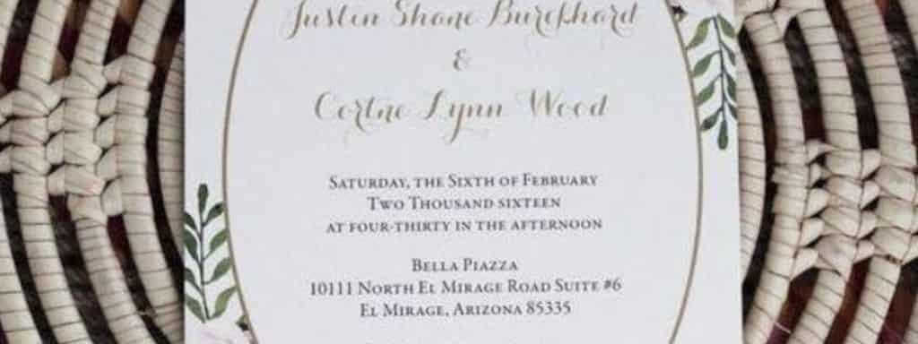 Beautiful Wedding Announcements.Beautiful Wedding Announcements Near W 11925 S S 2960 W Ut