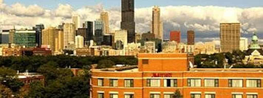Chicago Marriott At Medical District Uic 40 518Votes 625 S Ashland Ave